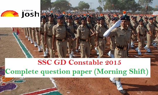 ssc constable question paper