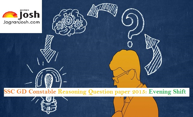 ssc constable reasoning paper