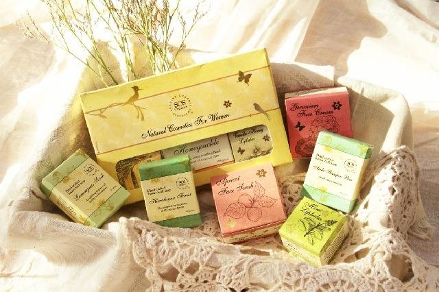 Natural Bath Gift Set