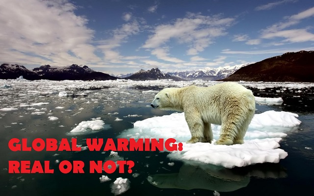 Is global warming a real issue or not