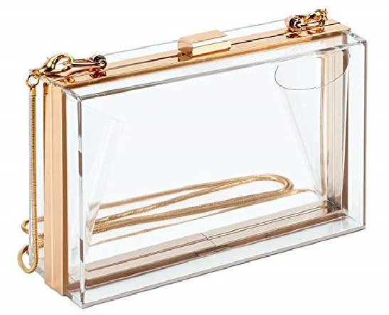 Glass Design Stylish Clutch