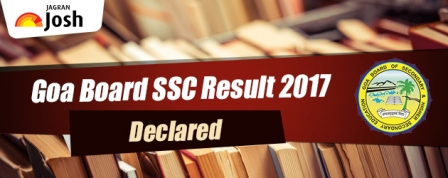 Goa SSC Result 2017 to be declared today
