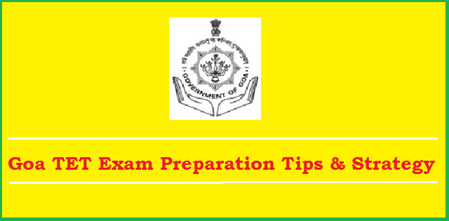 Goa TET preparation tips