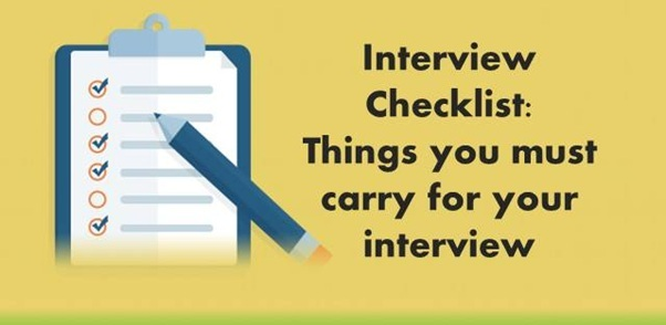 Things That You Must Carry For An Interview