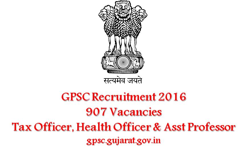 gpsc_907_vacancies