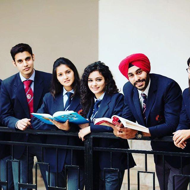 Graphic Era University MBA Students