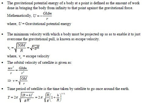 UPSEE gravitation concepts 2