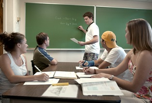 Discuss Mathematics questions with your friends after the class