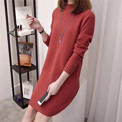 Half stand collar dress