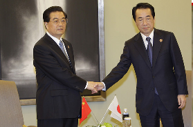handshake in japan