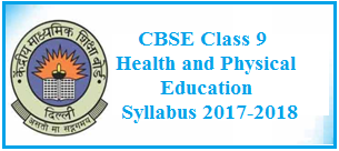 CBSE Class 9 Physical Education Syllabus