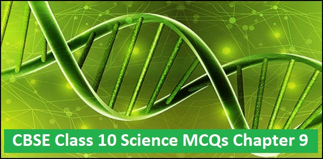 CBSE Class 10 Science MCQs Chapter 9 Heredity and Evolution
