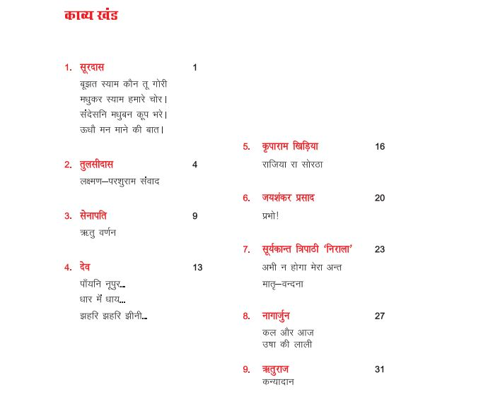 rajasthan board hindi book