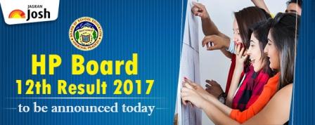 HP Board 12th Result 2017