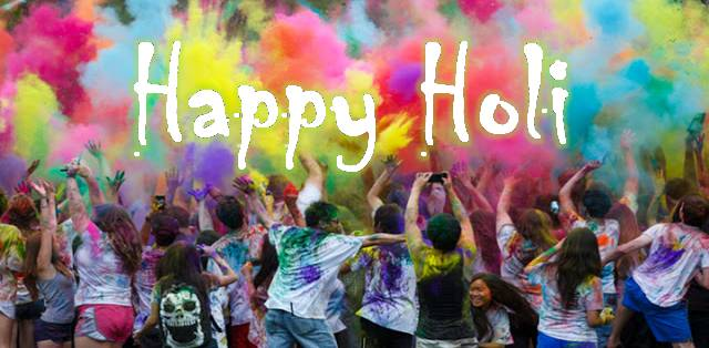 Tips for a safe and healthy Holi in College