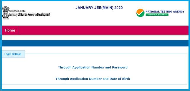 JEE Main 2020 Answer Key: Home Page