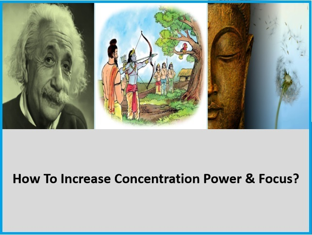 How to increase concentration and focus?