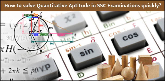 SSC aptitude tips