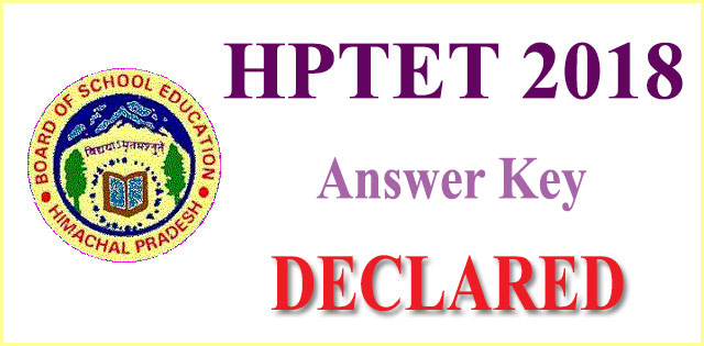 HPTET 2018 Answer Key released Last day to challenge answer key is tomorrow
