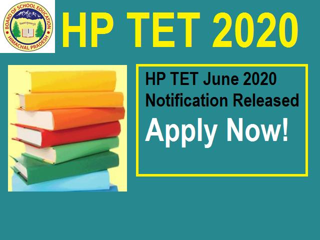 HP TET 2020