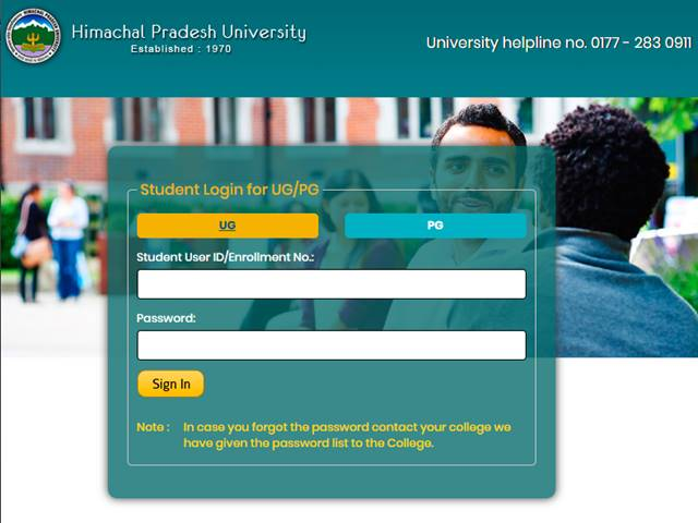 HPU Result 2019 for UG 1st Year Students Declared, Get