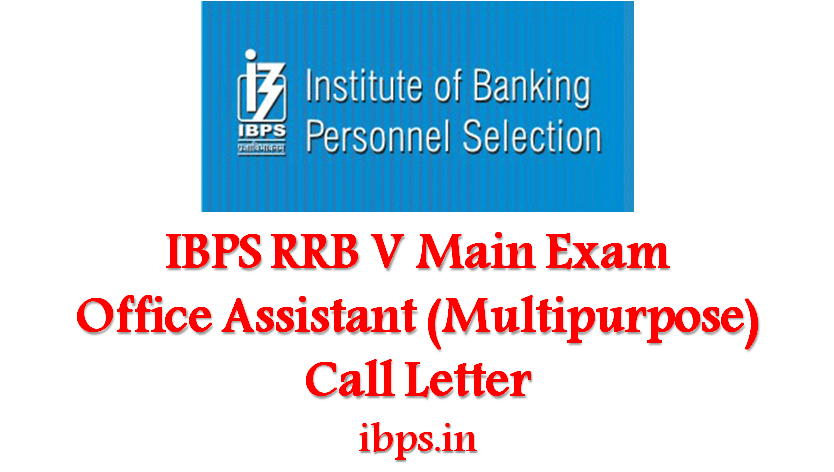 ibps-rrb-main-exam-call-letter