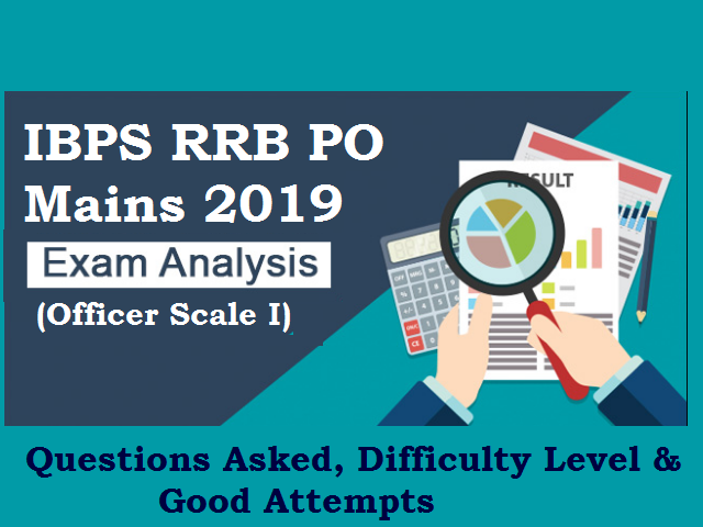 IBPS RRB PO Mains 2019