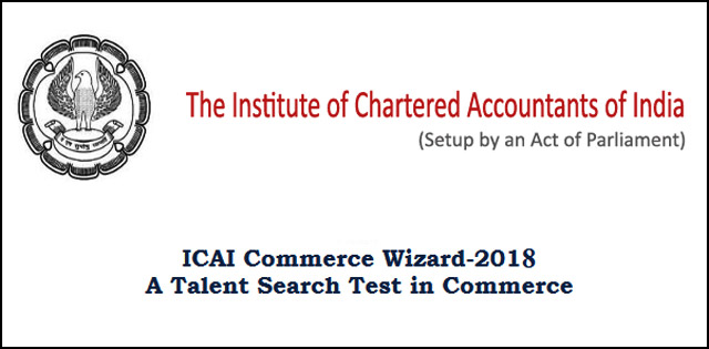 ICAI Commerce Wizard Competition 2018