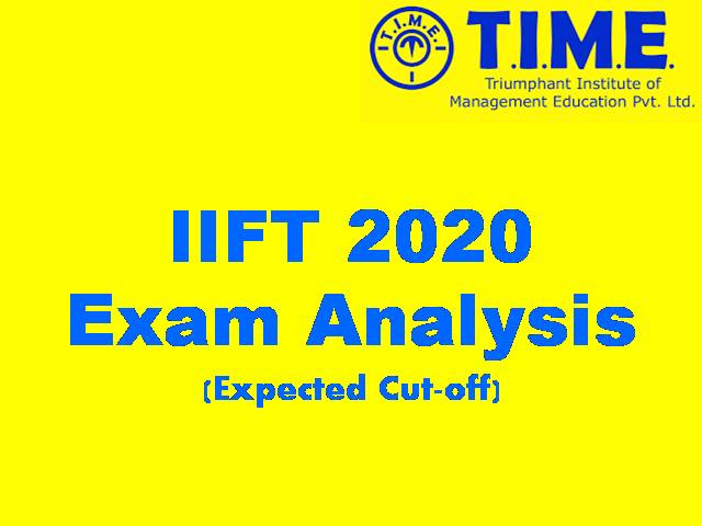 IIFT 2020 Analysis by TIME
