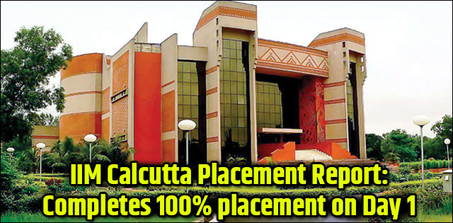IIM Calcutta 2019 Placement Report