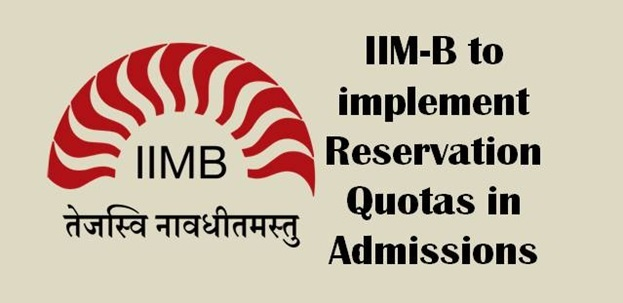 IIM-B to implement reservations quotas for admission in FPM course