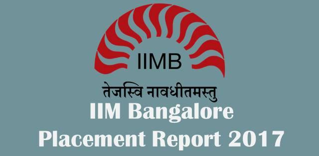 IIM Bangalore Placement 2017: Average Salary rises to Rs 21 Lakh