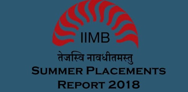 IIM Bangalore records 100% summer placements