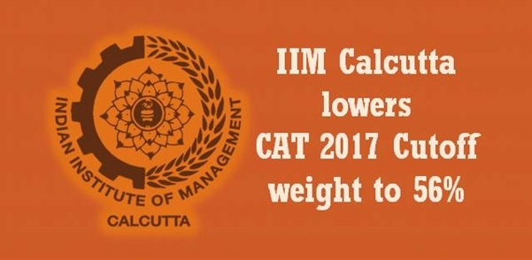 IIM Calcutta lowers CAT 2017