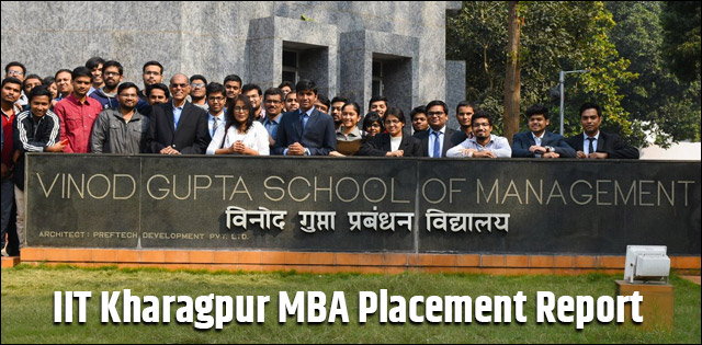 IIT Kharagpur MBA Placement Report 2019