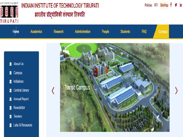IIT Tirupati Recruitment 2019 for 38 Non-Teaching Posts