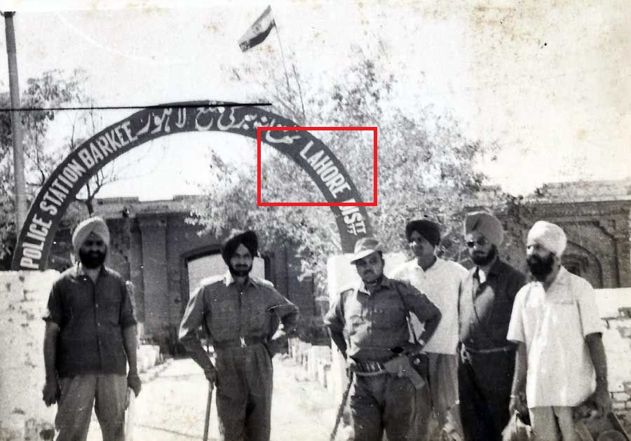 indian army in lahaur 1965