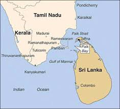 link between india and sri lanka