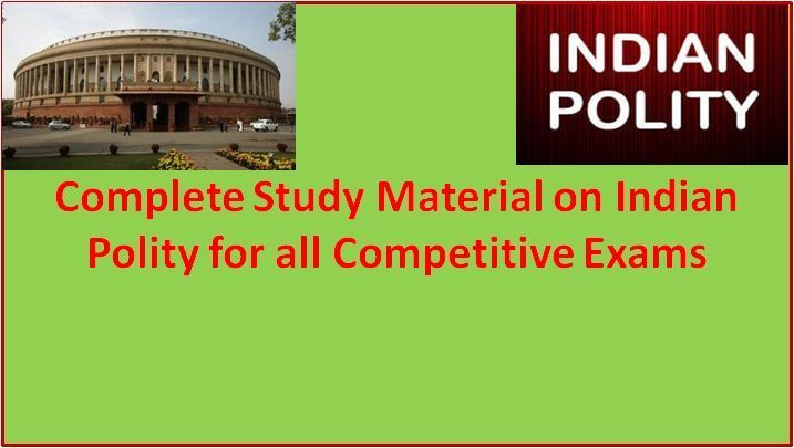 Indian Polity & Governance: A Complete Study Material