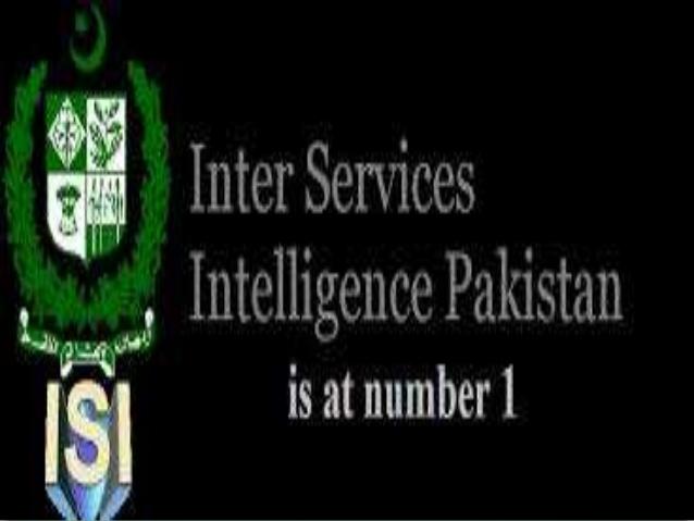 ISI Intelligence Agency Pakistan