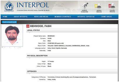 interpol red corner notice