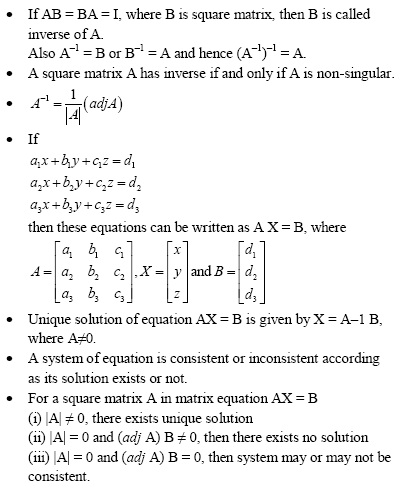 More Concepts of Matrices and Determinants for UPSEE
