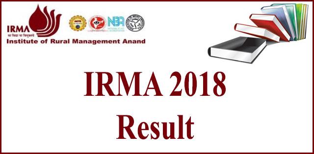 IRMA 2018 PGDRM Final Result Postponed, Check Details Here