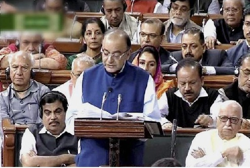 jaitley reeading the budget