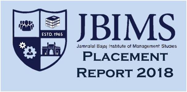 JBIMS Mumbai Placement 2018: Average Salary rises to Rs