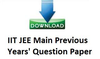 JEE main, JEE Main Question Paper, JEE Main Sample Paper