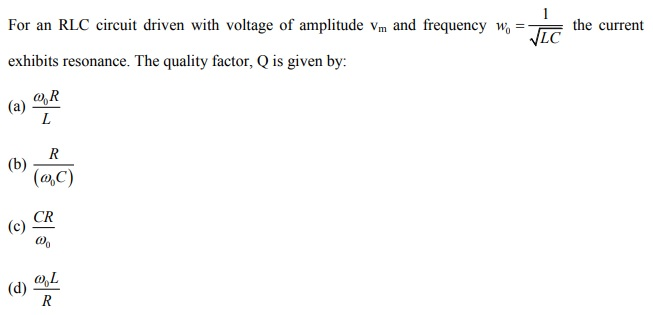 Chapter Notes of Alternating Current for IIT JEE