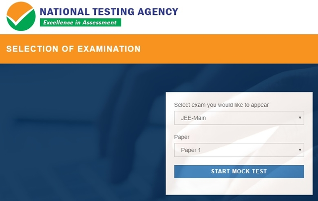 Mock test by NTA (National Testing Agency)