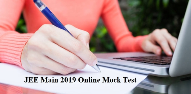 Online mock test for JEE Main 2019 started