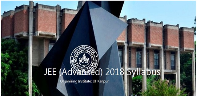 JEE Advanced 2018 Complete Syllabus